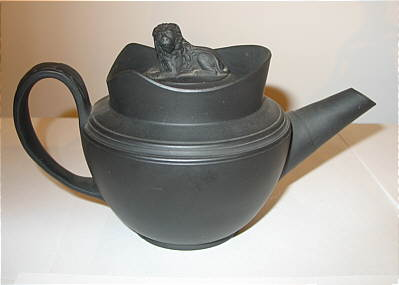 SOLD   A CHARMING BASALT ONE-CUP TEAPOT