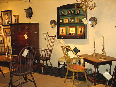 Booth Pics<br>Booths of the Past<br>Historic Alexandria Antiques Show
