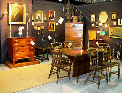 Booth Pics<br>Booths of the Past<br>Chester County Historical Society Antiques Show