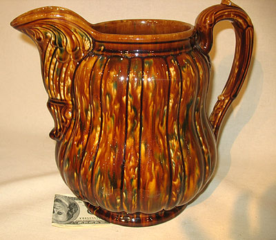 SOLD   Oversized Bennington Pitcher