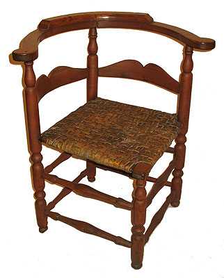 SOLD An 18th Century Corner Chair