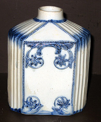 SOLD  A Pearlware Tea Canister