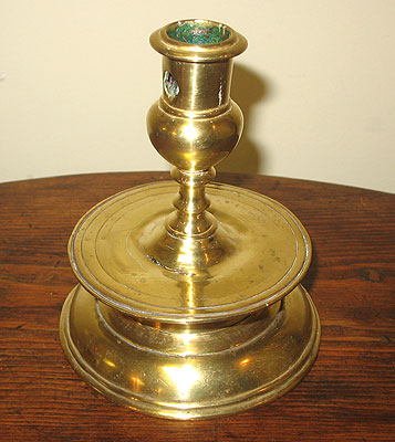 Metalware<br>Archives<br>SOLD A Brass Capstan Candlestick