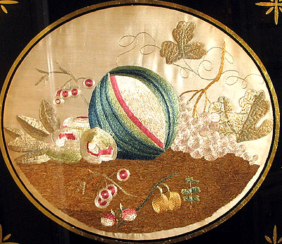 Accessories<br>Archives<br>SOLD A Silk Needlework Still Life