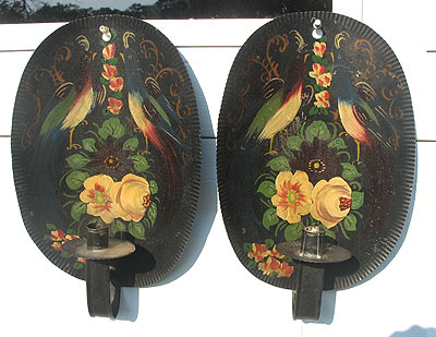 Metalware<br>Archives<br>A Pair of American Ballroom Sconces
