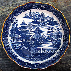 SOLD  Caughley Dessert Plate