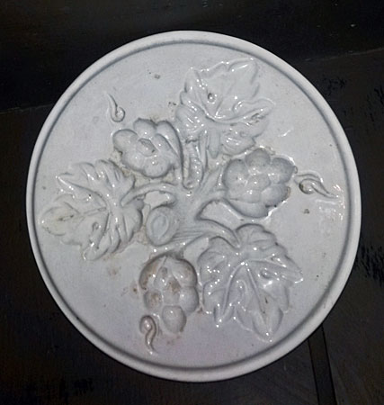 SOLD  A creamware food mold