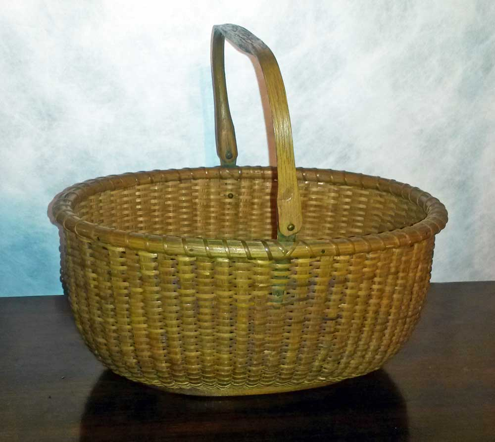Nantucket Oval Basket by Mitchell