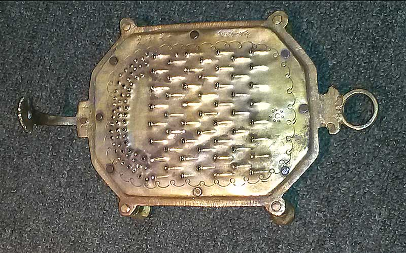 Metalware<br>Other<br>Brass Turtle Grater
