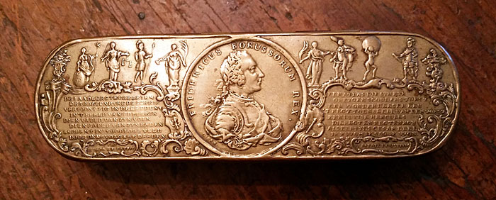 Frederick the Great Tobacco Box