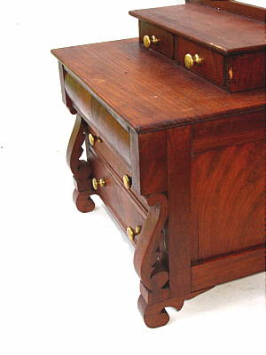 SOLD  Miniature Mahogany Chest of Drawers