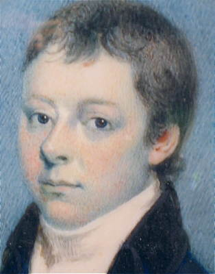 Paintings<br>Archives<br>Portrait Miniature of a Young Man