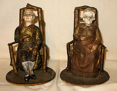 SOLD   A Pair of 19th Century Nodders