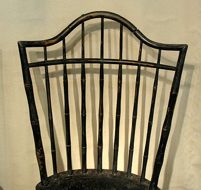 SOLD  An Unusual Pair of Windsor Sidechairs