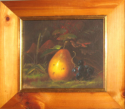 SOLD  An oil of a pear