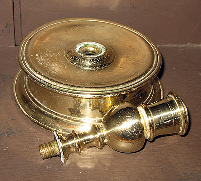 Early and Wonderful Capstan Candlestick