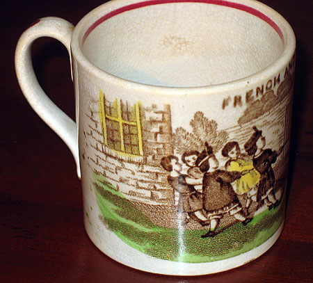 SOLD  French and English Child's Mug