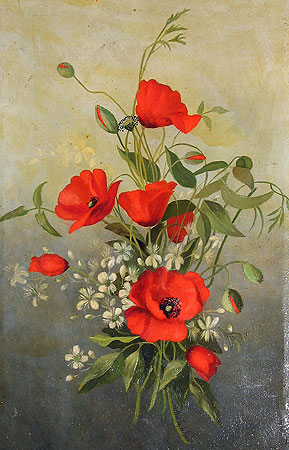 SOLD  Poppies
