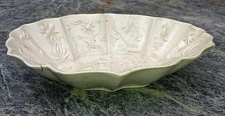 Salt glaze spoon tray