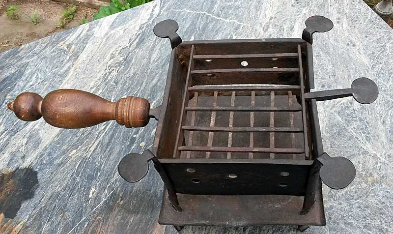 SOLD  Revolutionary War Camp Stove or Brazier