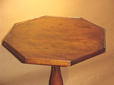 Furniture<br>Furniture Archives<br>SOLD  Octagonal Top Candlestand