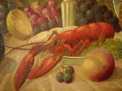 Still Life with a North American Lobster