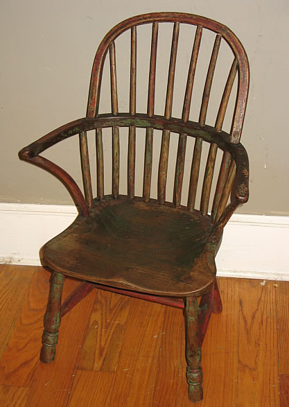 Furniture<br>Furniture Archives<br>SOLD  Child's Windsor Chair