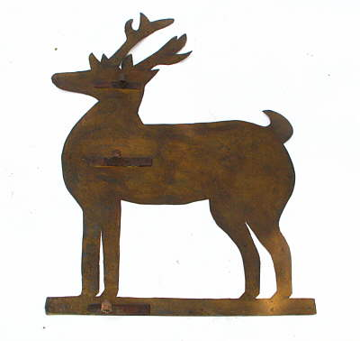 SOLD   Stag Weathervane