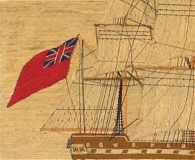 SOLD   British Sailor's Woolwork
