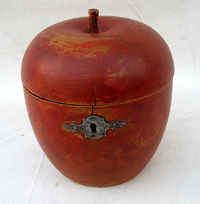 Accessories<br>Accessories Archives<br>SOLD   A Red Apple Tea Caddy