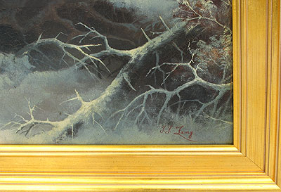 Paintings<br>Archives<br>SOLD   John J. Zang, American Landscape Artist