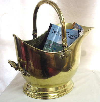Metalware<br>Archives<br>A Nice Brass Coal Hod