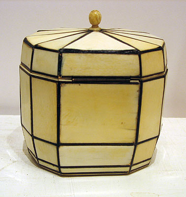 SOLD An Ivory Georgian Tea Caddy