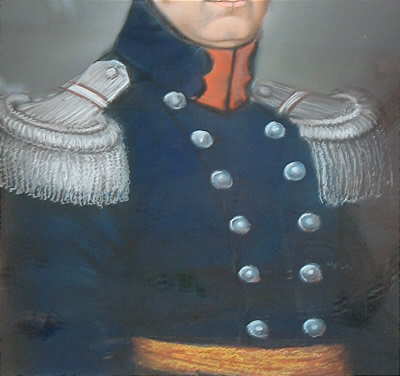 Portrait of Dutch Officer