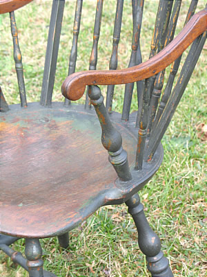 SOLD  Rhode Island Brace-Back Windsor Chair