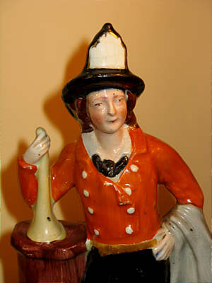 SOLD   Staffordshire Fireman