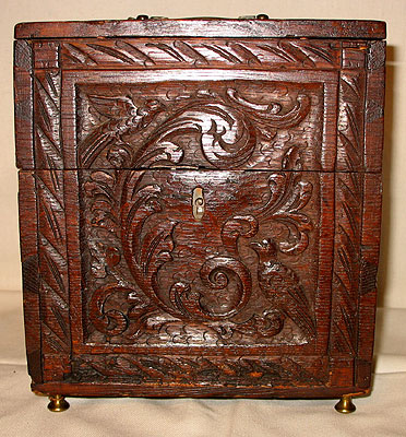 SOLD An Early 19th Century Complete Liquor Chest