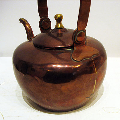 SOLD  Very Small Copper Kettle