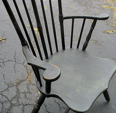 Furniture<br>Furniture Archives<br>A Pennsylvania Fan-back Armchair