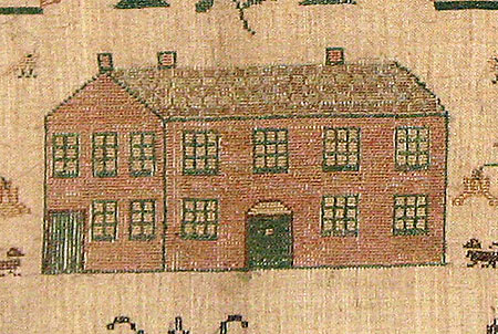 Accessories<br>Archives<br>SOLD  A Needlework Sampler by Catherine Williams, Age 11