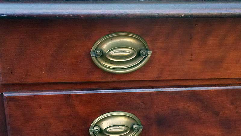 A fine American Cherrywood Chest