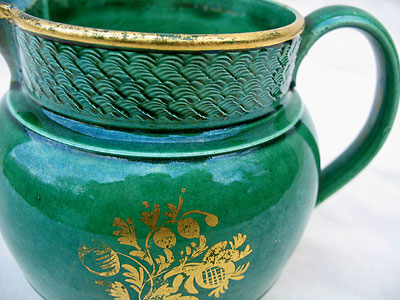 Accessories<br>Accessories Archives<br>SOLD   A Green Glazed Jug
