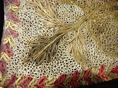 Furniture<br>Furniture Archives<br>SOLD  Paper Filigree Pole Screen