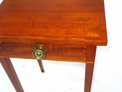 SOLD  INLAID FEDERAL ONE-DRAWER STAND