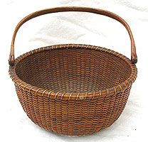 SOLD   A 19th century Nantucket Basket
