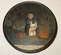 SOLD A Whimsical German Patch Box