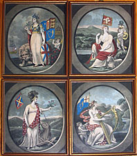 SOLD  Set of Four Prints of Great Britain