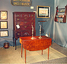 Our Booth at the York Antiques Show