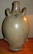 Interesting Stoneware Jug