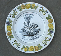 SOLD   Horn Book Child's Plate